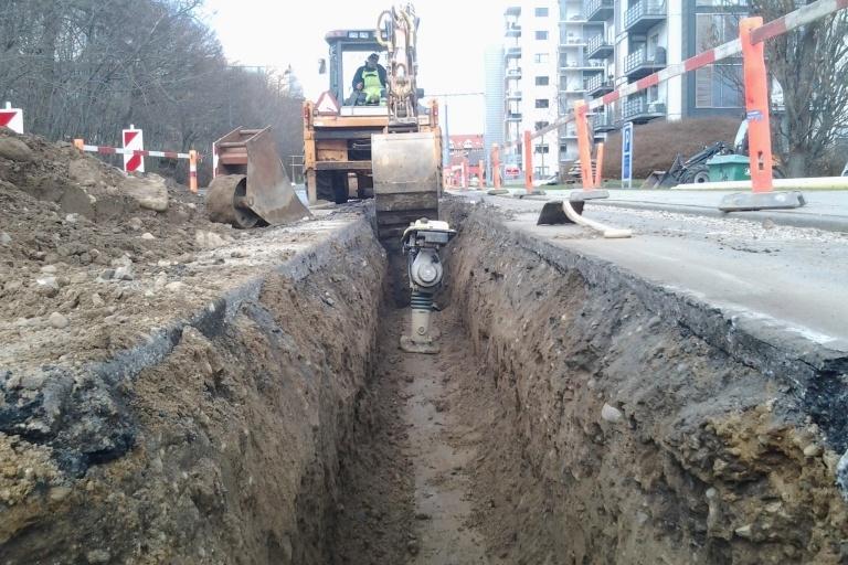 Nedgravning af kabler