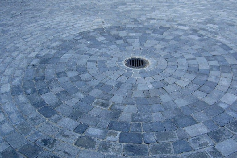 Cirkel i Herregårdssten