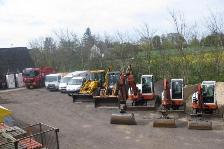 Maskiner fotograferet til vores Jubilæum maj 2012
